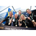 Anna Östling historisk mästare i Women's Trophy – och Guichard seglade hem GKSS Match Cup Sweden