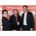 SNA Europe vinner AXXOS Produktivitetspris 2017