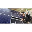 Miljövänlig el med solceller finns på Eskilstuna Energi och Miljö