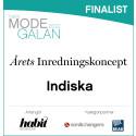 INDISKA nominerat till årets inredningskoncept i habit Modegalan