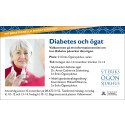 Diabetes och ögat – en informationsträff med anledning av världsdiabetesdagen