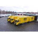 Tre skapbiler fra MAN med HydroDrive til RST Logistics