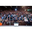 IP EXPO Nordic drog storpublik första dagen