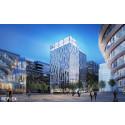 Skanska bygger hotell och kontor i Hagastaden, Stockholm, för 440 miljoner kronor