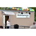Nytt medborgarkontor invigdes  i Berga