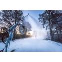 Bruksvallarna och Ramundberget sprutar snö
