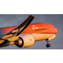 The Orange Pride: KLM's first partly orange aircraft!