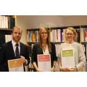 Tre uppsatser får pris av Brottsoffermyndigheten
