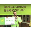 Järfälla pedagogpris till Gösta Westling