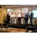 Bucht och Wikström hos Svensk Dagligvaruhandel i Almedalen