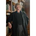 """Geoffrey Rush som den ældre Albert Einstein i """"Genius"""""""