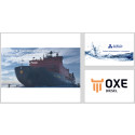 OXE Diesel displayed at NEVA-2019 Exhibition by Dizel Export 17 to 20 of September