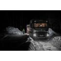Slambilar transporterar avloppsvatten till Umeå avloppsreningsverk