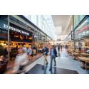 Säkerhetselever praktiserar i Kista Galleria under Kistaloppet