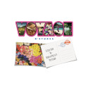 Send your travel experience as real postcards with Voyage D'etudes and Postify Postcards