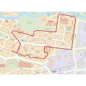 Karta_P-avgift införs på Öster.