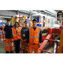 Young apprentices show MP their skills in maintaining Great Northern trains