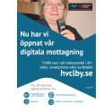 Läkarhuset och HVC i Ljungby börjar erbjuda videobesök