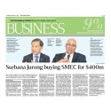 Surbana Jurong buying SMEC for $400m