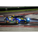 Tuff helg för Martin Nelson i Ferrari Challenge i Misano