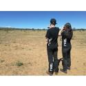 Elever på APL i Sydafrika.