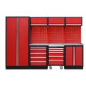 Ny komplett garageinredning i rött och svart – hos Verktygsboden