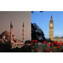London och Istanbul ökar mest