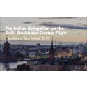Meet the Indian delegation on the Delhi-Stockholm startup flight
