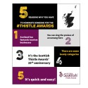 5 reasons why you have to nominate in the Scottish Thistle Awards!