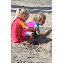 Smörj in kroppens utsatta delar - använd solkräm där den som mest behövs!