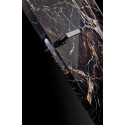 Innerdörr med marmoreffekt - GOLD detalj