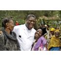 Fredspristagaren Mukwege har starka band till Sverige