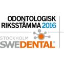 Välkommen att ackreditera dig till Odontologisk Riksstämma och Swedental 16-18 november