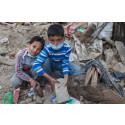 Ny kraftig jordbävning i Nepal förvärrar den redan akuta situationen för barn och familjer