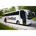 Swebus sätter in extraturer Västerås – Stockholm under banarbete
