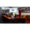 Stort intresse för Trejons produkter på Agritechnica