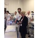 Endoskopistapel skänkt av Södra Dalarnas Sparbank invigd på Avesta Lasarett