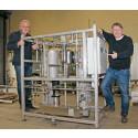 Unik vattenrenare från Sandviken levererad för kärnkraftsindustrin