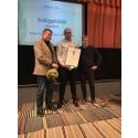 Saltå Kvarn och Il Forno Della Pita vinner tredje pris för sitt ekologiska surdegspitabröd i Matverks riksfinal 2018