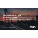 Atos tecknar femårigt kontrakt med Euromaint Rail för att skapa en innovativ digital arbetsplats