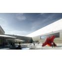 Det nye Nasjonalmuseet. Arkitekt:  Kleihues +Schuwerk