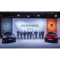 SEAT lanserar sex el- och laddhybridmodeller samt utvecklar en ny plattform för elbilar