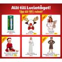 Allt till luciatåget från 49 kr! | Tillfälle! -31% på Babybjörn Miracle! | Upp till 62% på dockor, dockskåp, dockvagnar | -50% på LEGOs spjälskydd, skötbäddar, lekmattor