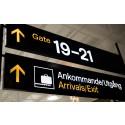 Flygresandet minskade kraftigt under årets första kvartal