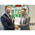 Hållbarhetssamarbete mellan NSR och Rögle