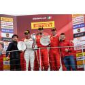 Dubbla pallplatser för Scuderia Autoropa och Martin Nelson i Trofeo Pirelli