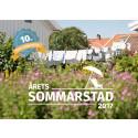 Rekordmånga röster i Årets Sommarstad 2017