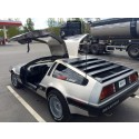 Kung Furys DeLorean till Sundsvall Street Meet - 2015