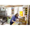 Rob Ryan i sin studio