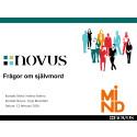 Novus/Mind Diagramrapport feb 2016: Svårt tala om självmordstankar